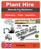 Thumbnail MINI EXCAVATORS CK25-28-36-50 Training instruction Manual