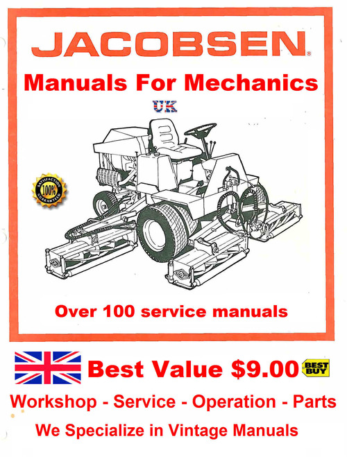 Product picture Jacabson Service manuals for Mechanics