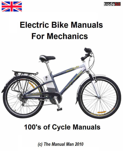 Product picture Electric and Manual Cycles Repair for Mechanics