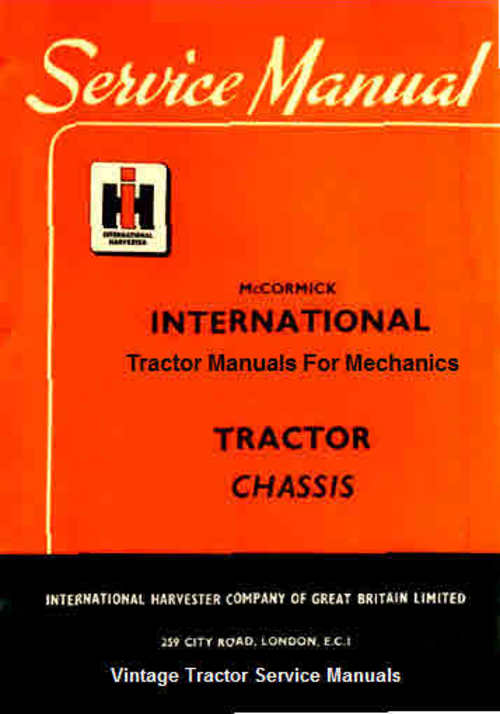 Product picture International Tractor Manuals for Mechanics