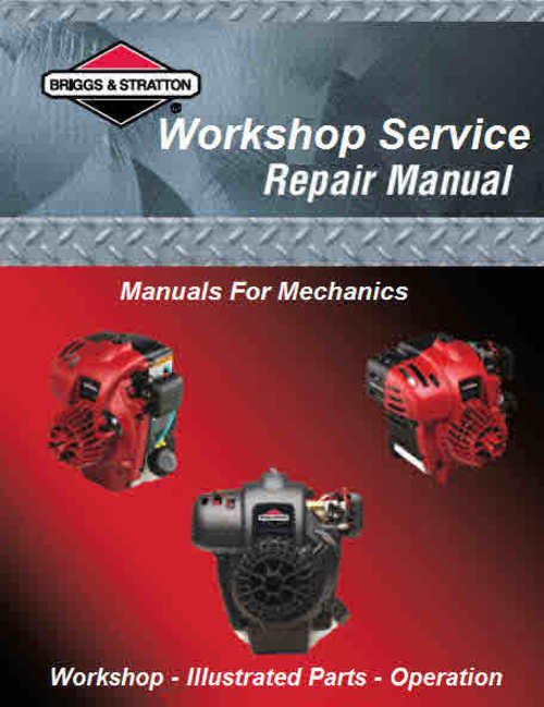 Product picture Briggs and Stratton Service Manuals for Mechanics